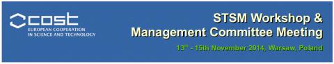 STSM Workshop & Management Committee Meeting